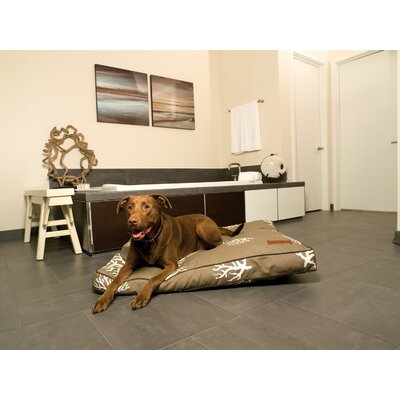 Jax & Bones Reef Square Pillow Dog Bed