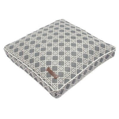 Jax & Bones Trellis Square Pillow Dog Bed