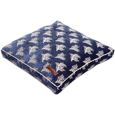 Jax & Bones Premium Cotton Pillow Dog Bed in Newport