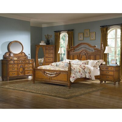 kathy ireland Home by Vaughan Southern Heritage Panel Bed