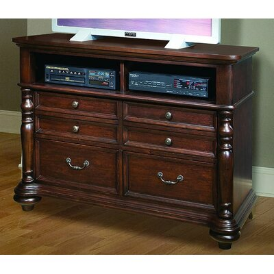 kathy ireland Home by Vaughan Provence Cottage 6 Drawer Media Dresser