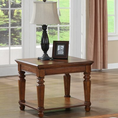 kathy ireland Home by Vaughan Pennsylvania Country End Table