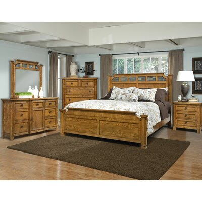 kathy ireland Home by Vaughan Ranchero Panel Bed