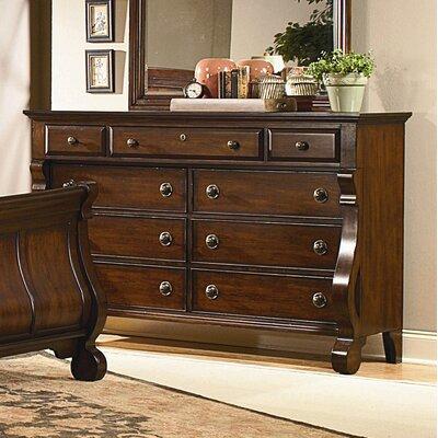 kathy ireland Home by Vaughan Georgetown 9 Drawer Dresser