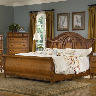 southern heritage sleigh bedroom collection wayfair