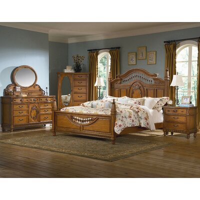 kathy ireland Home by Vaughan Southern Heritage 7 Drawer Combo Dresser