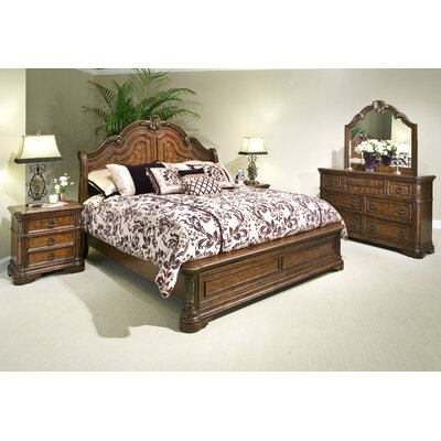 kathy ireland Home by Vaughan Romantic Dreams Sleigh Bedroom Collection