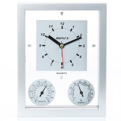 Maples Clock Table Alarm Clock