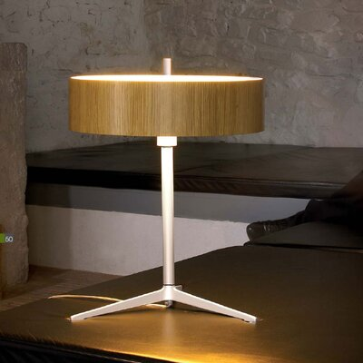 "B.Lux Ronda 22"" H Table Lamp with Drum Shade"