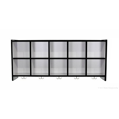 Mahar 10 Compartment Wall Mount Locker