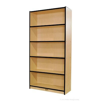 "Mahar 72"" Single-Sided Bookcase"