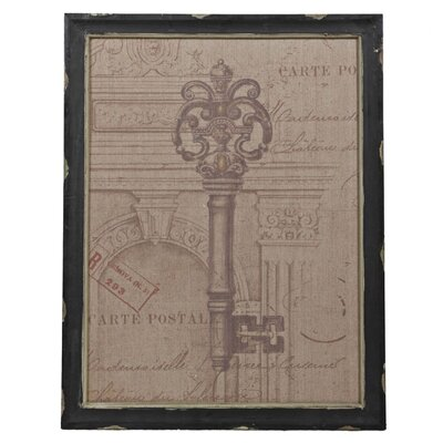 Privilege Vintage Key Wall Decor