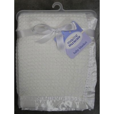 Making Miracles by NoJo Christening Blanket