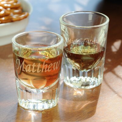Cathys Concepts Fluted Shot Glasses (Set of 2)