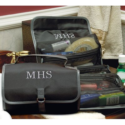 Cathys Concepts Personalized Men's Microfiber Toiletry Bag