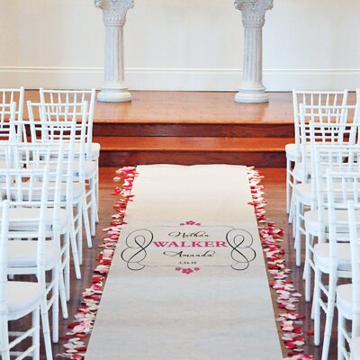Cathys Concepts Timeless Aisle Runner