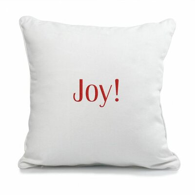 Cathys Concepts Holiday Cotton Canvas Pillow