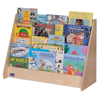 Steffy Wood Products Four-Shelf Book Display Unit