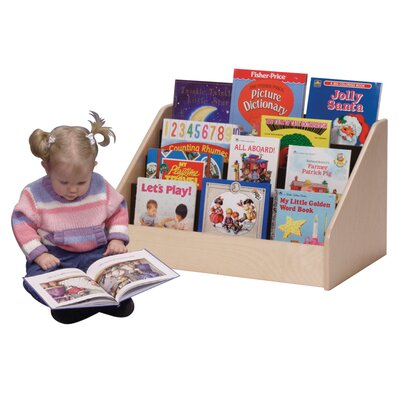Steffy Wood Products Low Toddler Book Display Unit