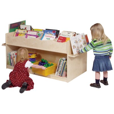 "Steffy Wood Products Mobile 41"" Book Display"
