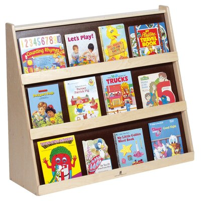 Book Display Unit with Rear Shelves
