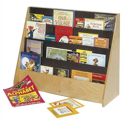 Steffy Wood Products Big Book Display Unit