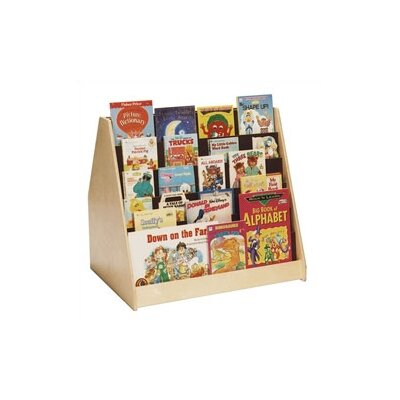 "Steffy Wood Products Universal 30"" Book Display"