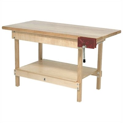 Steffy Wood Products Maple Top Workbench