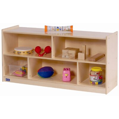 Steffy Wood Products Toddler 2 Shelf Storage