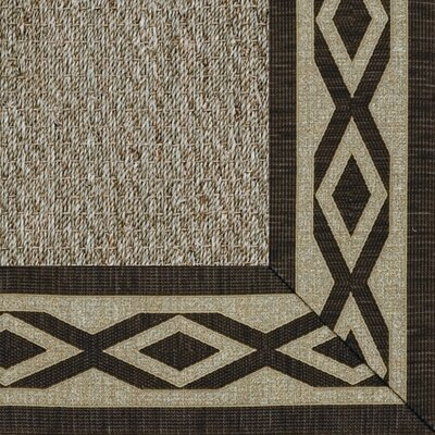 Botanical Blends Spring Twine Green Meadow Labyrinth Bordered Rug