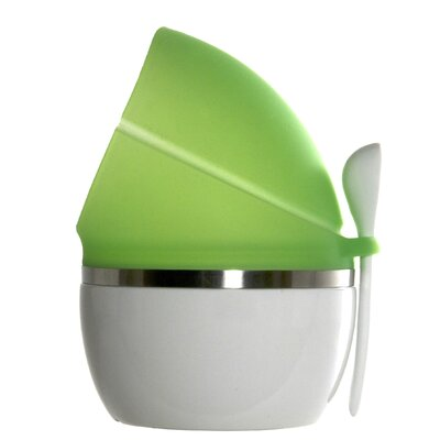 Prepara Pop Savor in White with Green Top