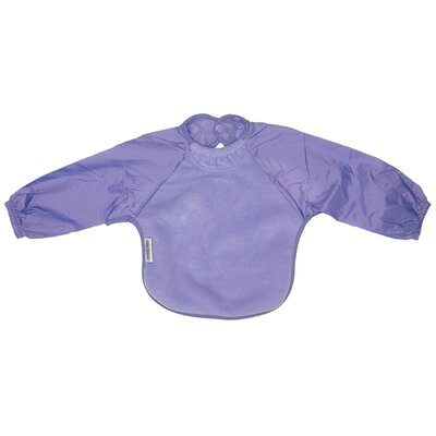 Silly Billyz Long Sleeve Fleece Bib in Lilac