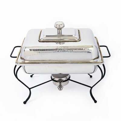 Nickel 4 Qt Rectangle Chafing Dish