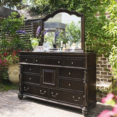 Steel Magnolia 9 Drawer Dresser Wayfair