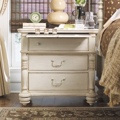 Paula Deen Home Savannah 3 Drawer Nightstand