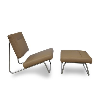 International Design Malaga Chair and Ottoman