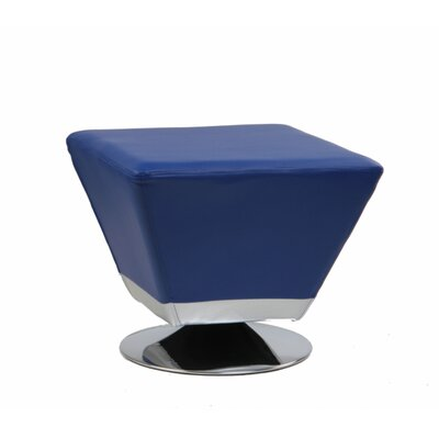 International Design USA Cube Swivel Ottoman