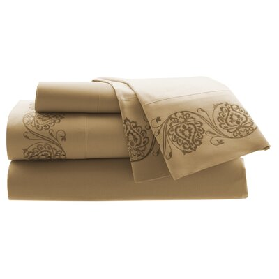 Croscill Home Fashions Mystique 300 Thread Count Cotton Sheet Set