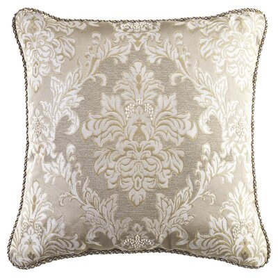 Croscill Home Fashions Ava Polyester Square Pillow