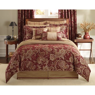Claret Bedroom Queen Bed