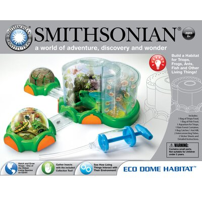 NSI Smithsonian Eco Dome Habitat with Triops