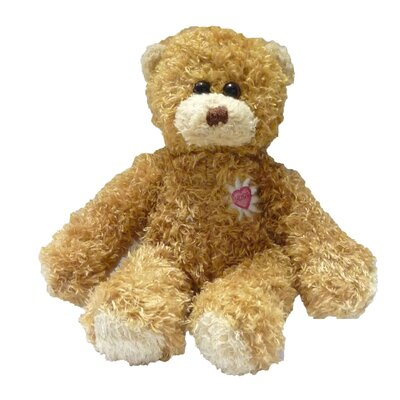 "Molly P. Originals 8"" Daisy Heart Bear - Bear Only Wool Doll"