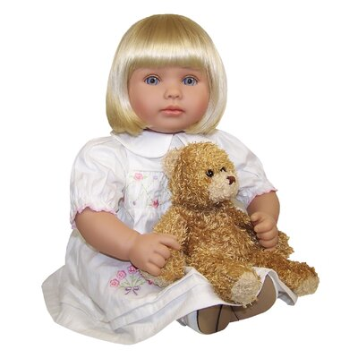 Molly P. Originals Zoe Doll with Daisy Bear