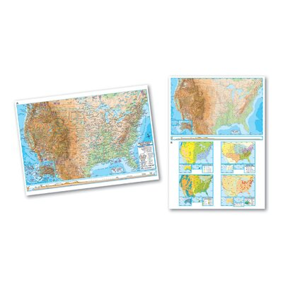 Universal Map Advanced Physical Deskpad - United States