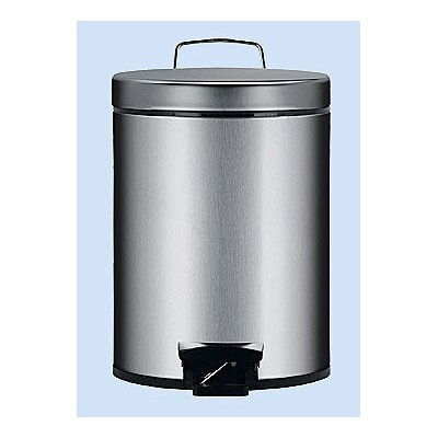Brabantia 5-Liter Fingerprint Proof Pedal Bin