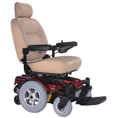 Heartway Vital C 500 lbs. limit Heavy Duty Electric Power Wheelchair with Captain Seat with Suspensions
