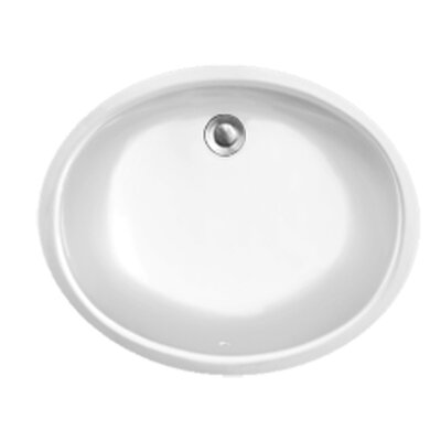 Advantage Series Carolina Undermount Oval Bathroom Sink - 99