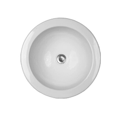 CorStone Advantage Series Fairlawn Self Rimming or Undermount Round Bathroom Sink
