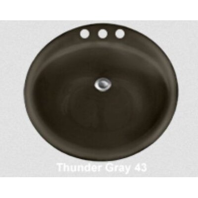 CorStone Advantage Series Anderson Self Rimming Round Bathroom Sink