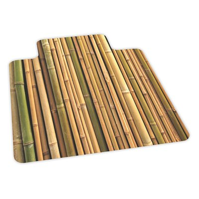 ES Robbins Corporation Bamboo Design Chair Mat